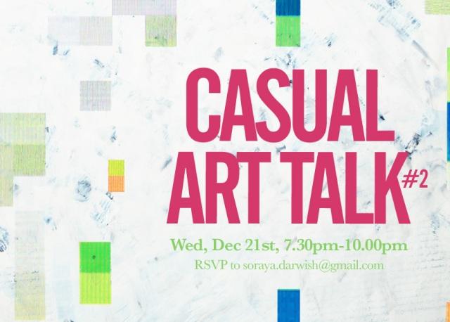 casual art talk#2